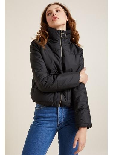 Z Giyim Bomber Şişme Mont Siyah
